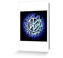 Shiny Volkswagen Badge © Greeting Card