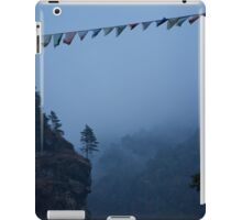Valley near Lukla iPad Case/Skin