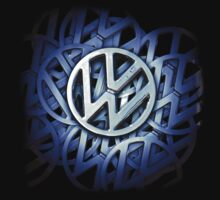 Shiny Volkswagen Badge © Kids Clothes