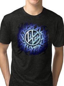 Shiny Volkswagen Badge © Tri-blend T-Shirt