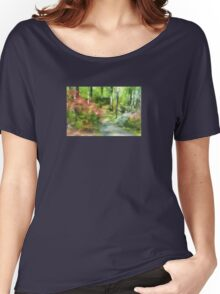 A Morning Walk at Brighton Women's Relaxed Fit T-Shirt