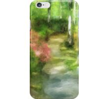 A Morning Walk at Brighton iPhone Case/Skin