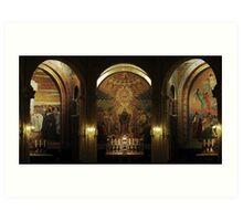 Lourdes Mosaics Art Print