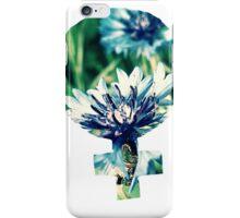 Blue Flowers Venus Symbol iPhone Case/Skin