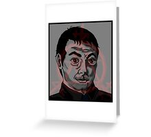 The King of Hell- Crowley Greeting Card