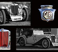 MG - Celebration of a vintage car by outbackjack