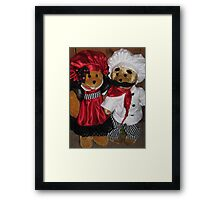 The Chef And The Waitress Framed Print
