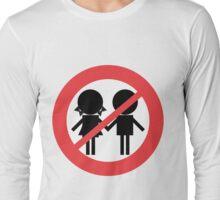 Children Banned Long Sleeve T-Shirt