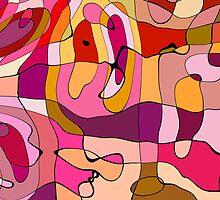 Abstract Color Card by jean-louis bouzou