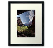 Exploring Zion Framed Print