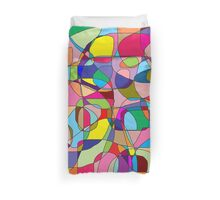 Colors collage Duvet Cover