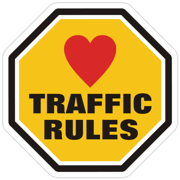 Love Traffic Rules by AravindTeki