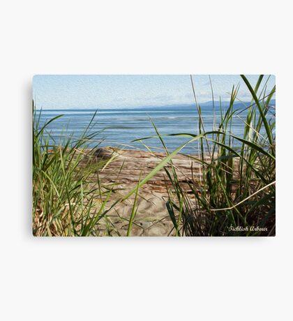 Beach's View Canvas Print