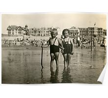 From the family album: Cousin Willy and I, beside the seaside.... Poster