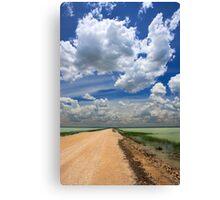 African Sky, Etosha National Park, Namibia, Africa. Canvas Print