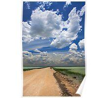 African Sky, Etosha National Park, Namibia, Africa. Poster