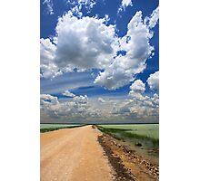 African Sky, Etosha National Park, Namibia, Africa. Photographic Print