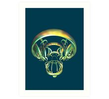 Legal Alien's Skull Art Print