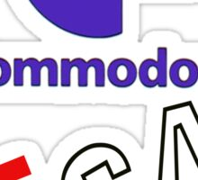 Commodore 64 Sticker