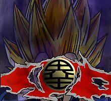 Dragon Ball Z Goku V Vegeta  by SteelGhost