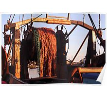 Trawler Nets Poster