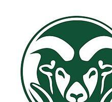 CSU Ram Logo by torif14
