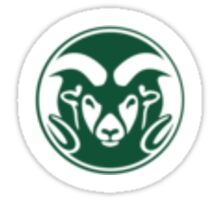 CSU Ram Logo Sticker
