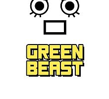 Rock Lee - Green Beast!! (Yellow) by Nocky