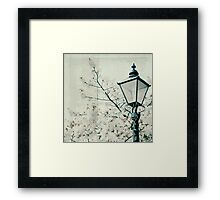 A life without love in it is like a heap of ashes upon a deserted hearth - with the fire dead, the laughter stilled, and the light extinguished... Framed Print