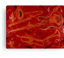 Jazzy and Spicy Canvas Print