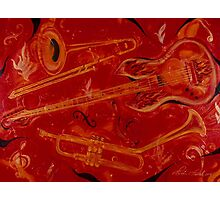 Jazzy and Spicy Photographic Print