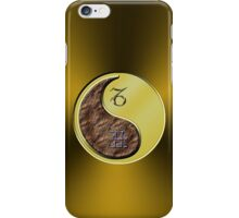 Capricorn & Ox Yin Metal iPhone Case/Skin