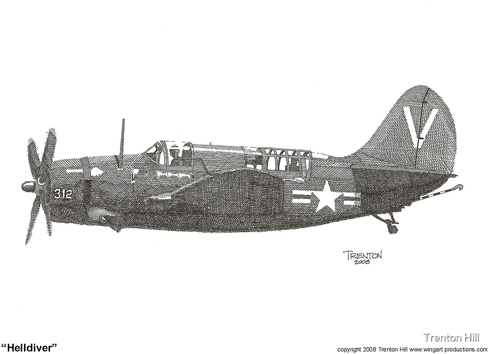 """""""Helldiver"""" by Trenton Hill"""