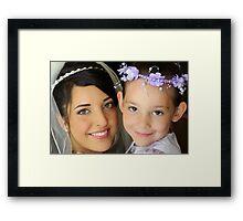 Amanda & Skyla Framed Print