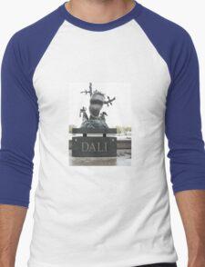 A TRIBUTE TO SALVADOR DALI Men's Baseball ¾ T-Shirt