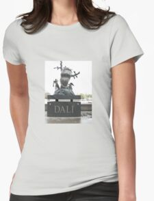 A TRIBUTE TO SALVADOR DALI Womens Fitted T-Shirt