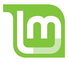 Linux Mint Flat Photographic Print