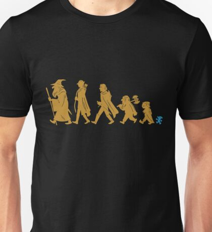 Funny Fellowship of The Ring Unisex T-Shirt