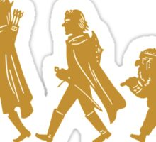 Funny Fellowship of The Ring Sticker