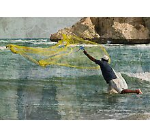 Casting the Net Photographic Print