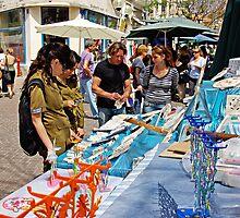 Artists Market in Tel Aviv by Zal Lazkowicz