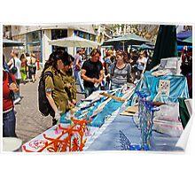 Artists Market in Tel Aviv Poster