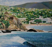 """Laguna Beach"" by Barry Kadische"