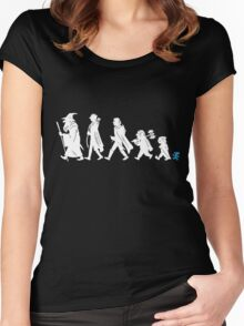 Funny Fellowship of The Ring Women's Fitted Scoop T-Shirt