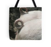 Pig Tails Tote Bag