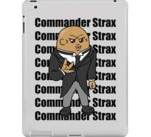 Commander Strax iPad Case/Skin