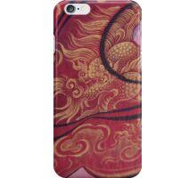 Dragon Detail in Kathmandu iPhone Case/Skin