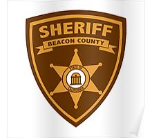 Beacon County Sheriff Swag Poster