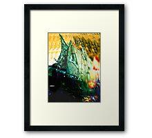 Explosion at Sea Framed Print