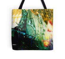 Explosion at Sea Tote Bag
